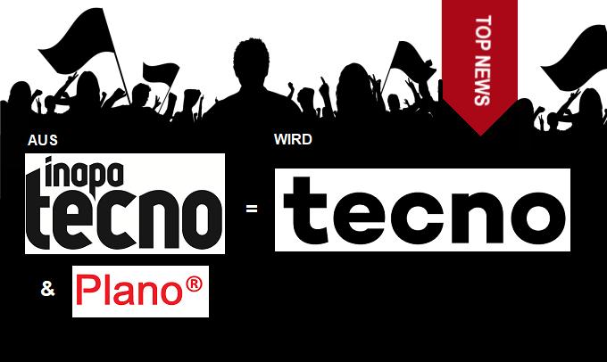 Aus Inapa Tecno + Plano wird Tecno