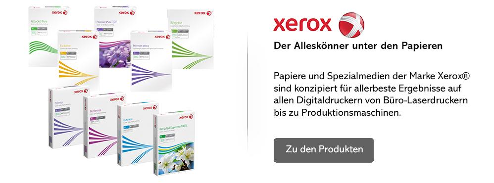 Xerox, die Alleskönner unter den Papieren