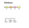 4 Neonfarben Tecno Colors