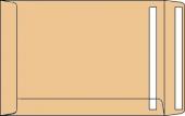 DIN C5 Versandtaschen, natron/braun, ohne Fenster, SK, 90g/qm