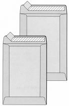 DIN B4 Versandtaschen mit Papprückwand, natron/braun, ohne Fenster, HK, 120g/qm